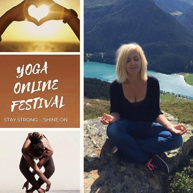 Tina und Yoga Festival